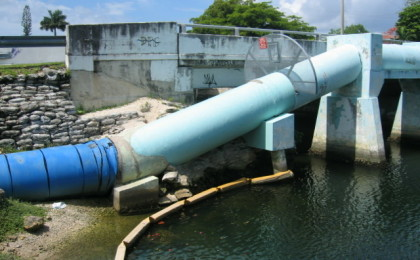 WASA 48 Inch Water Main Repairs & Retaining Wall