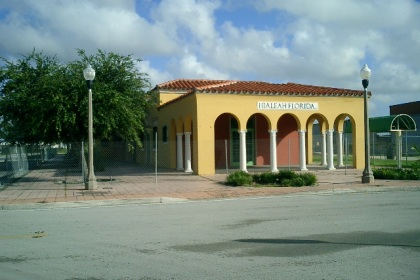 Hialeah Train Station